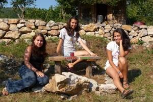 Alex, Nadya and Katrin
