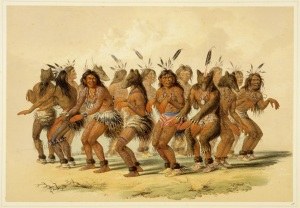 George Catlin - The Bear Dance